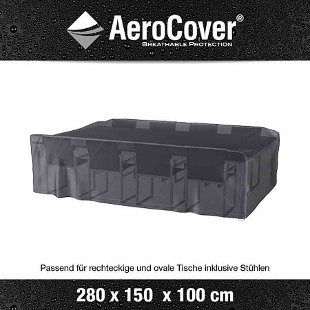 AEROCOVER Sitzgruppenhülle AeroCover, 280x150x100 cm