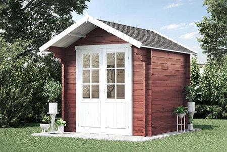 Alpholz Gartenhaus Lena-44 ISO ohne Imprägnierung