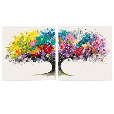 Bilder-Set, 2-tlg. Magic Tree