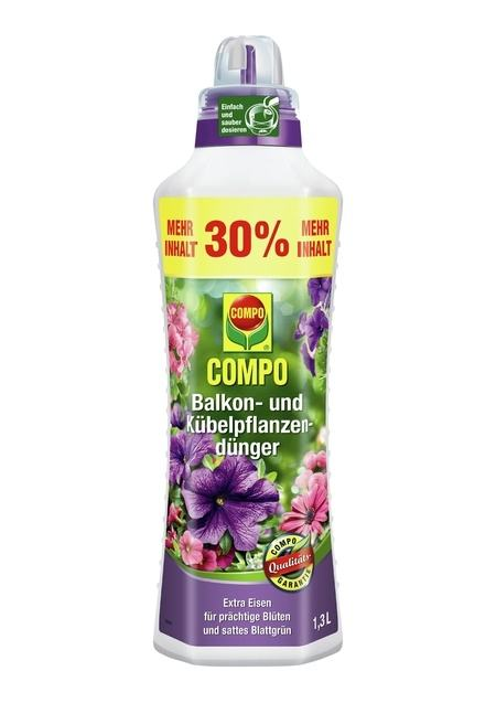 COMPO COMPO Balkon- und Kübelpflanzendünger 1,3 l