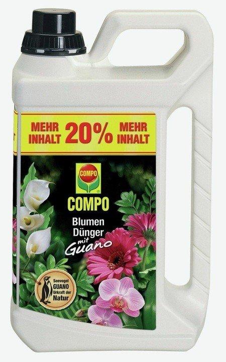 COMPO COMPO Blumendünger mit Guano 3 l