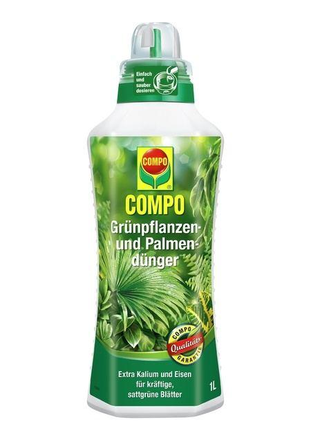 COMPO COMPO Grünpflanzen- und Palmendünger 1 l