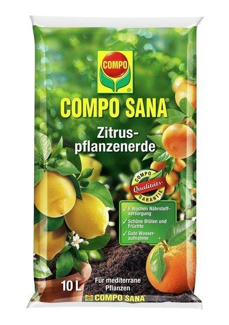 COMPO COMPO SANA® Zitruspflanzenerde 10 L