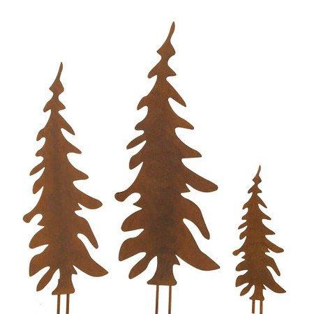 Gartenstecker-Set Tannenbaum, 3-tlg.