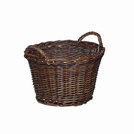 H.G Ernte- und Kartoffelkorb 50cm, rund, Weide geflochten, 2 Griffe