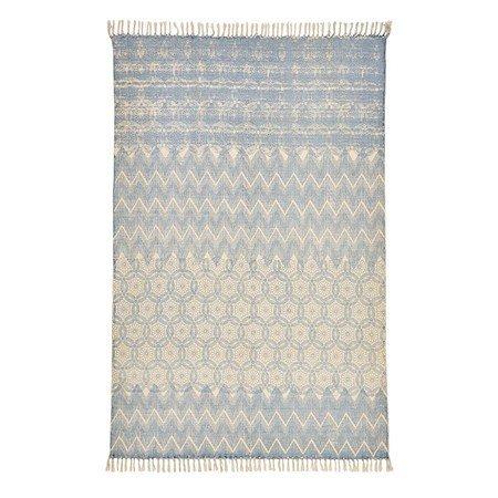 IMPRESSIONEN living Teppich Blau160x250 cm