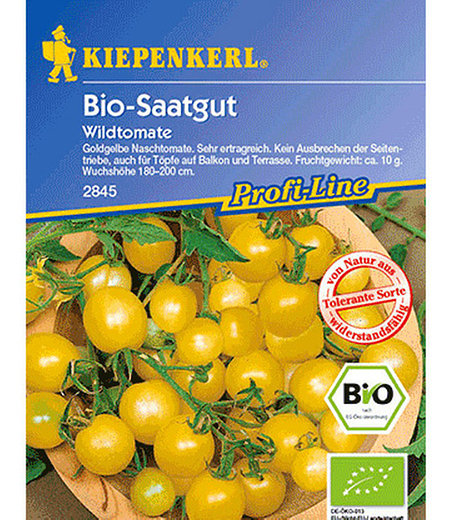 Kiepenkerl BIO-Wildtomate, gelb,1 Portion