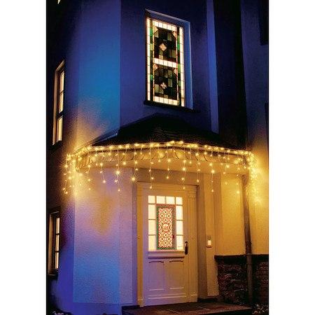 LED Lichtervorhang Eisregen 200 Dioden