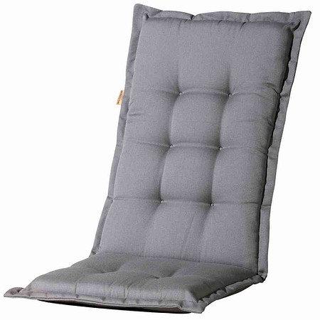 MADISON Auflage für Sessel hoch, Panama grau 75% Baumwolle 25% Polyester