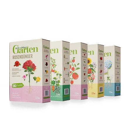 Mein schöner Garten Bio-Dünger 5er-Set