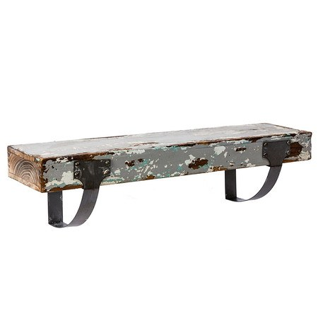 miaVILLA Wandboard Vintage Grau 60 cm