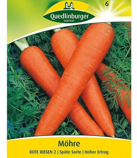 """Quedlinburger Wintermöhren """"Rote Riesen 2"""",1 Portion"""