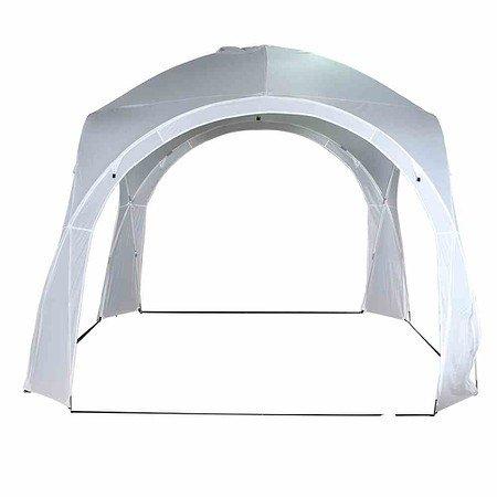 SIENA GARDEN Eventzelt Roma 3,2x3,2 m weiß, mit Fiberglasgestell