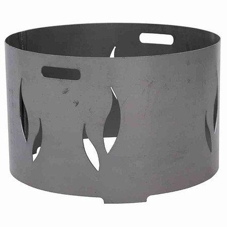 SIENA GARDEN Feuerschalenaufsatz, Stahl silber, zu der Feuerschale XXL Ø75cm