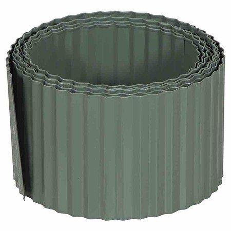 SIENA GARDEN Rasenkante metall, 6m x 150mm grün