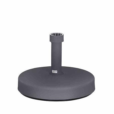 SIENA GARDEN Schirmständer Kunststoff, 25 kg, Ø 46x11 cm, anthrazit