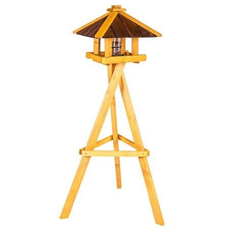 SIENA GARDEN Vogelfutterhaus Ben mit Ständer, inklusive Flexi