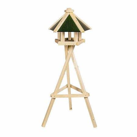 SIENA GARDEN Vogelfutterhaus Pepe mit Ständer, Maße: 49x38cm