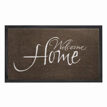 SIENA HOME Fußmatte Peva Welcome taupe 45x 75 cm