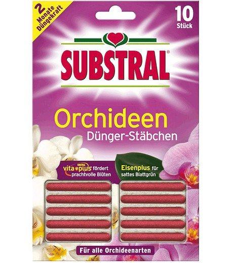 Substral SUBSTRAL® Orchideen-Düngestäbchen Vita Plus,10 Stück