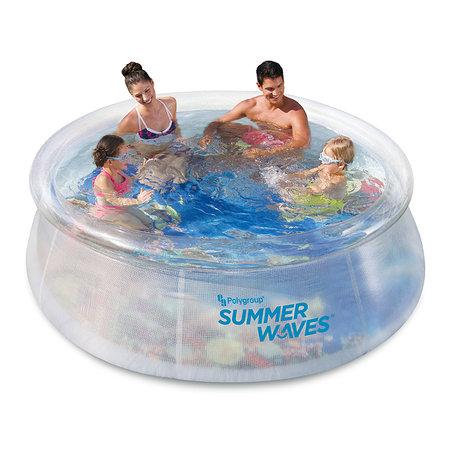 Summer Waves 3D Pool Ø244 x 76 cm inkl. 3D-Brillen
