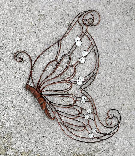 Wanddekoration Schmetterling,1Stück