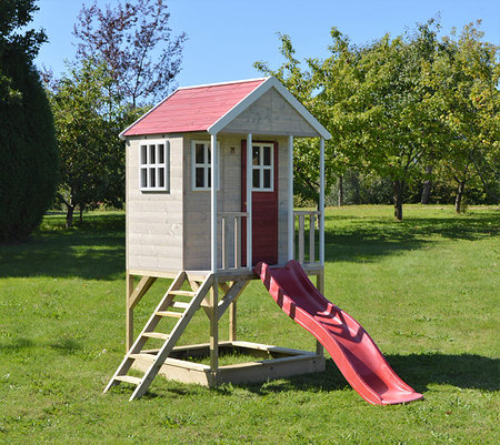 WendiToys Spielhaus Frosch, 197x 280x 242 cm (BxTxH)