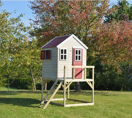 WendiToys Spielhaus Storch, 197x 167x 242 cm (BxTxH)