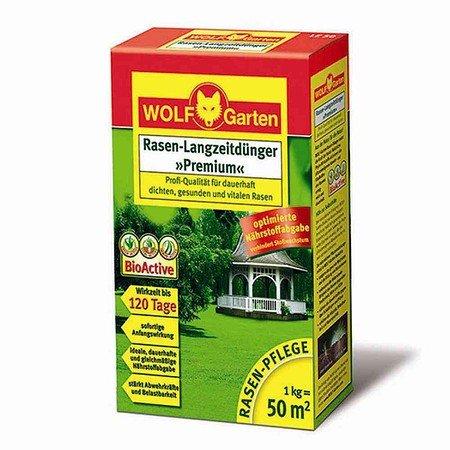 WOLF-GARTEN LE 50 D/A Rasendünger, Langzeitdünger Premium