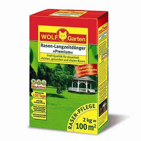 """WOLF-GARTEN Rasen-Langzeitdünger """"Super"""", für eine Rasenfläche von ca. 100 qm"""
