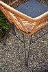 SIENA GARDEN Balkon-Set Tiros , 3-teilig matt anthrazit / natur (5)